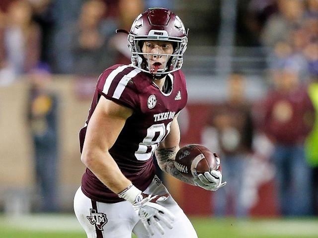 Texas A&M TE Jace Sternberger.