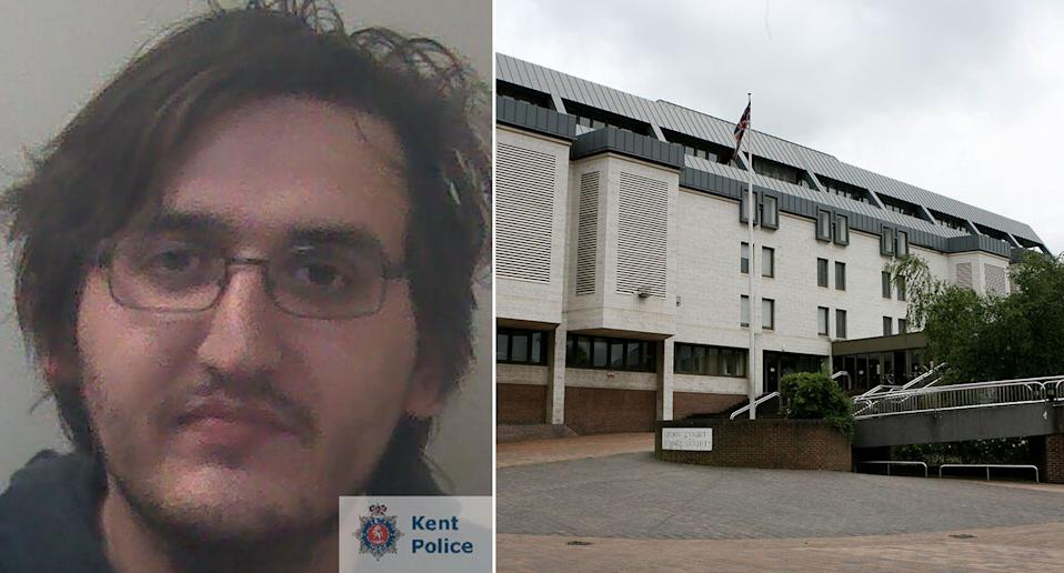 Stalker Thomas Lloyd was sentenced at Maidstone Crown Court in Kent. (Kent Police/PA)