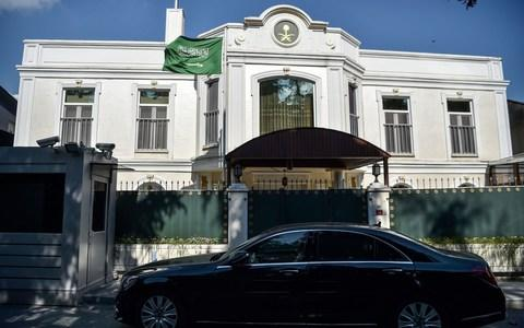 The residence building of the Saudi Arabian consulate in Istanbul - Credit: AFP