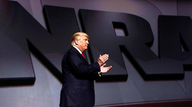 The National Rifle Association spent $419 million in 2016, increasing its 2015 total by over $100 million and dwarfing spending in previous presidential election years by far more, according to an audit published Thursday.