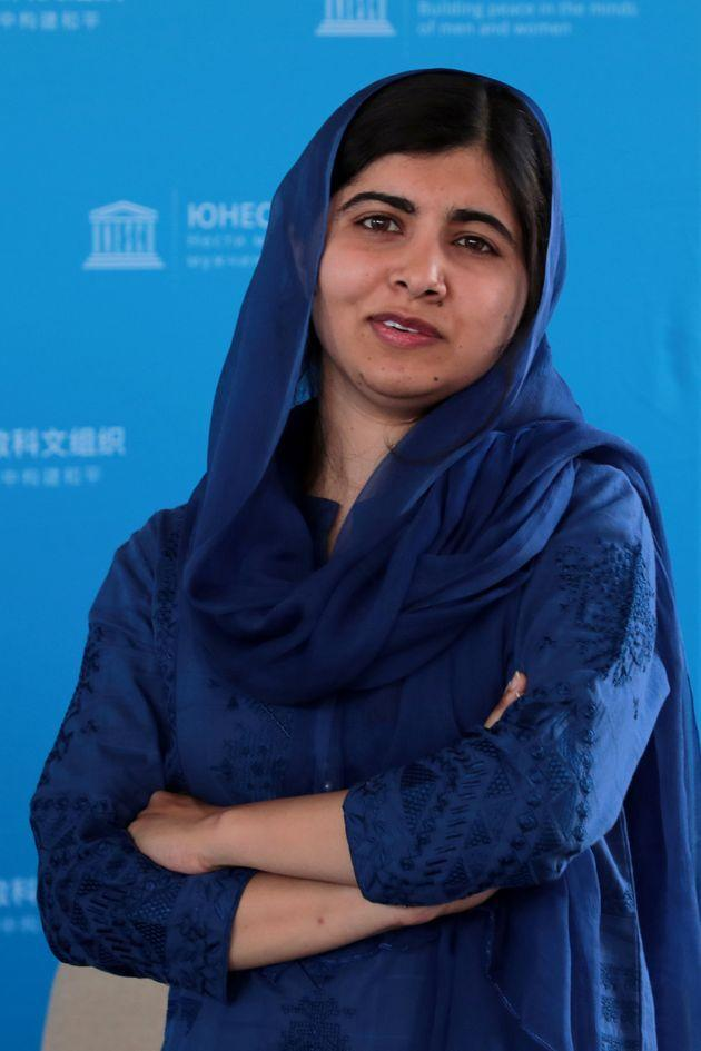 Nobel Peace Prize laureate Malala Yousafzai poses for photographs during the Education and Development G7 Ministers Summit in Paris, France, July 5, 2019. Christophe Petit Tesson/Pool via REUTERS (Photo: POOL New via Reuters)