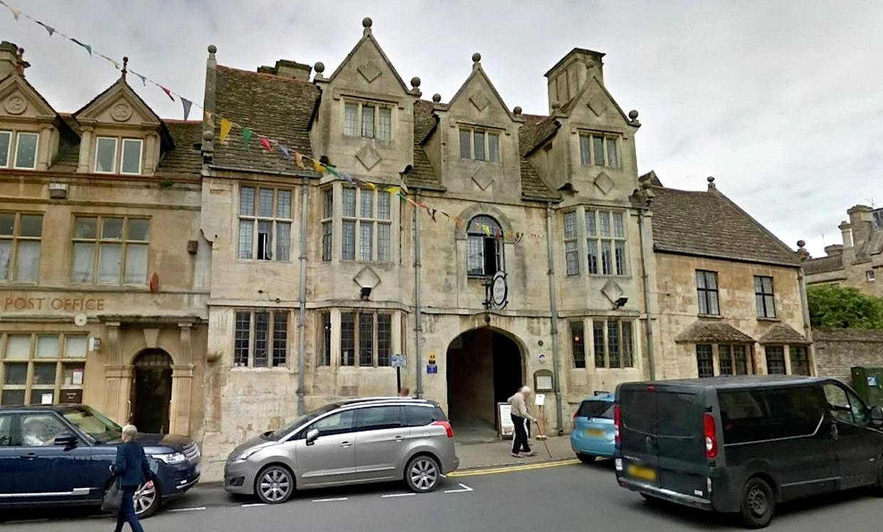 Google street view of the Talbot Hotel in Oundle.  A night porter sneaked into a woman's room in a posh Northamptonshire hotel before climbing on top of her and biting her neck.   See SWNS story SWMDperv.   Zeshan Akhtar walked into the room at the four star Talbot Hotel in Oundle where he had been working and pinned the woman's arms above her head so he could carry out his assault.  Northampton Crown Court heard that the woman had noticed Akhtar, 39, staring at her uncomfortably in the hotel bar that evening in early 2018.  In the early hours, the woman had gone up to her room, got changed, and got into bed, but five minutes later she heard him come into the room and he climbed on the quilt on top of her. She tried to push him away but he got off the bed, lifted the quilt, saying 'Show me what you've got'.  Akhtar had initially denied the incident and had been due to stand trial this April. But days before he was due in court he was arrested at Heathrow airport trying to board a plane to Pakistan.