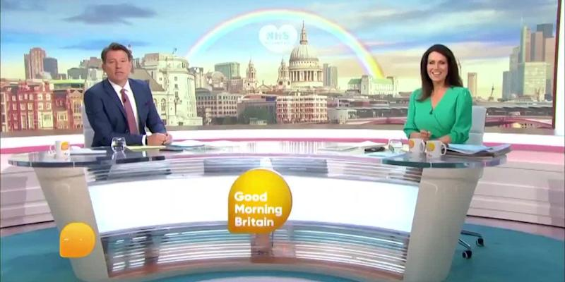 Piers Morgan misses GMB after displaying Covid-19 symptoms