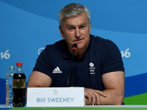 Sweeney was appointed BOA chief executive in 2013 and spearheaded Rio 2016 (Getty)