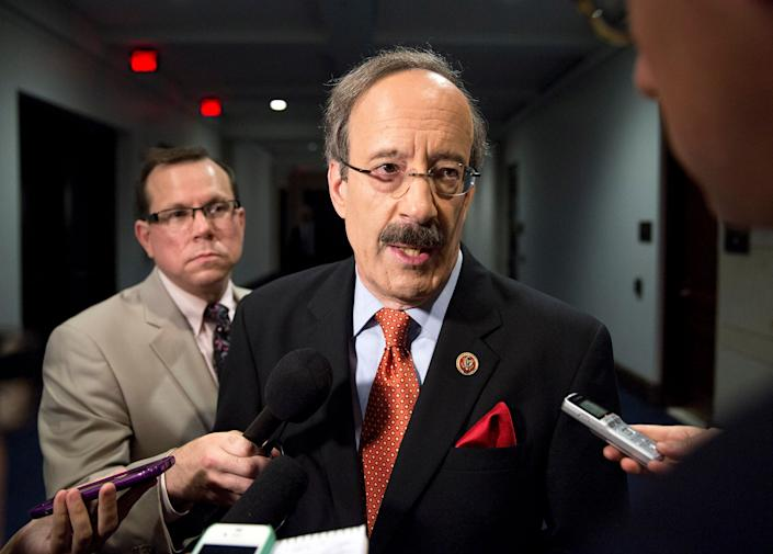 Rep. Eliot Engel (D-N.Y.), chair of the House Foreign Relations Committee, is the increasingly rare white representative of a majority-minority district. (Photo: Joshua Roberts / Reuters)