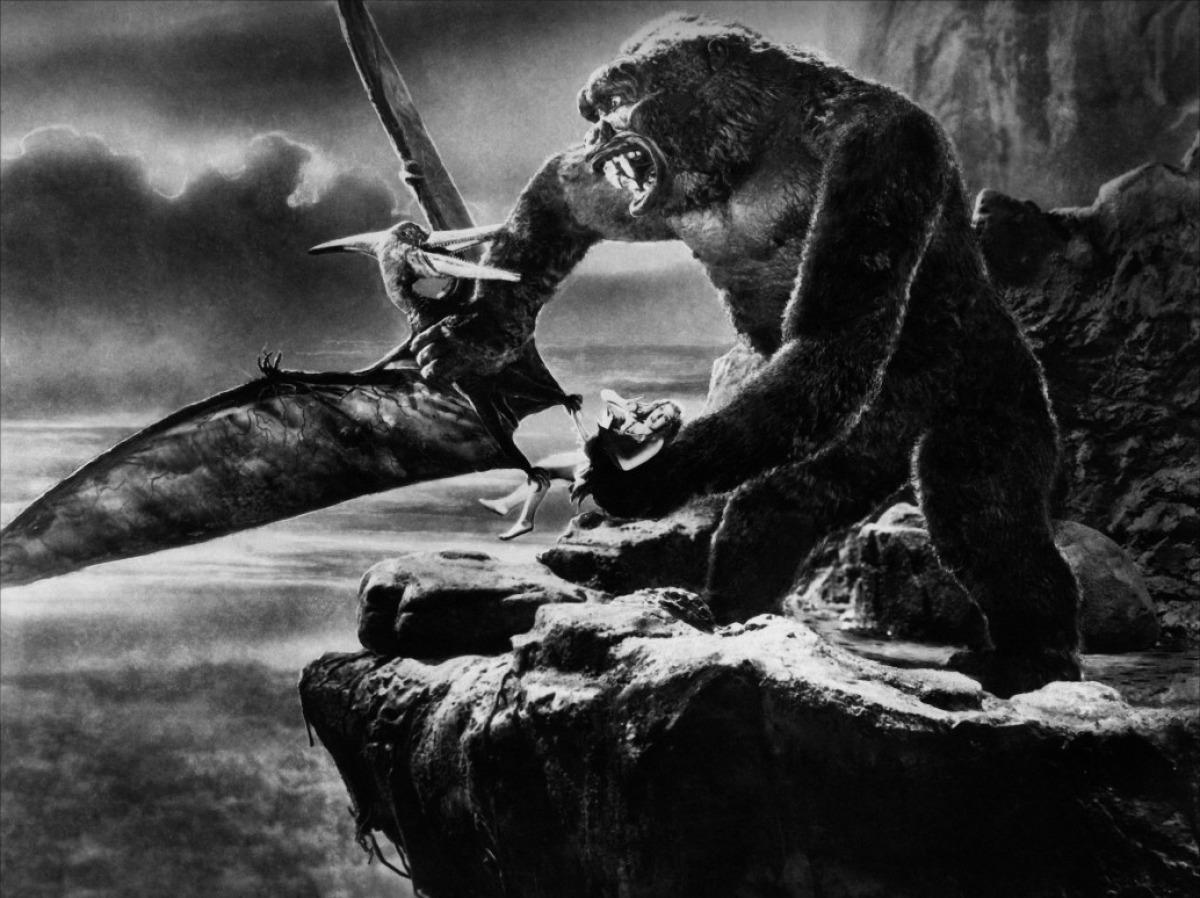 <p>Starring Fay Wray, Robert Armstrong, and Bruce Cabot, Cooper's classic original <em>King Kong</em>was one of Hollywood's first blockbusters and greatest achievements, featuring a stirring score by Max Steiner and groundbreaking effects byWillis O'Brienthatinspired generations of filmmakers, including Steven Spielberg and George Lucas. (Photo: Warner Bros.) </p>
