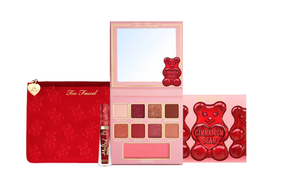 Too Faced Cinnamon Bear Makeup Set. Image via Sephora.