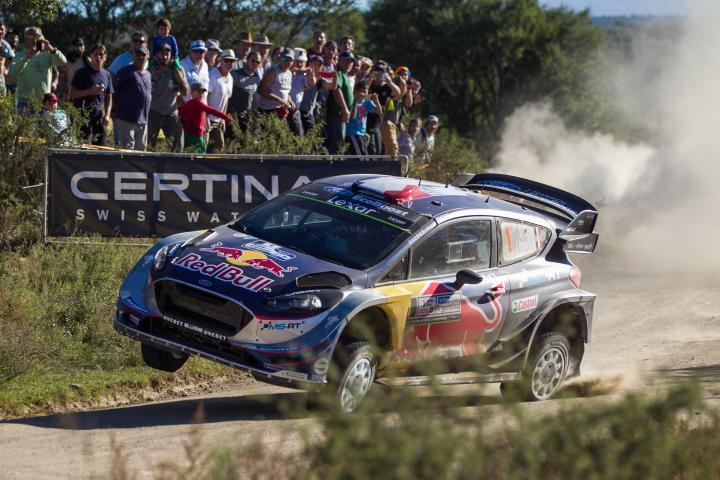 World Rally Test in Argentina