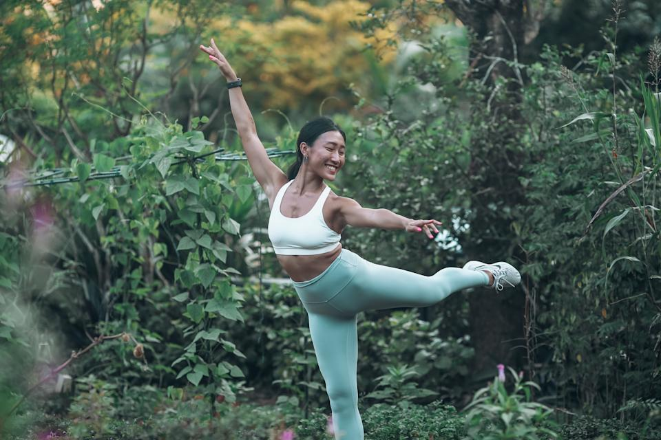 Novia continued to take part in many recreational sports during her university days.
