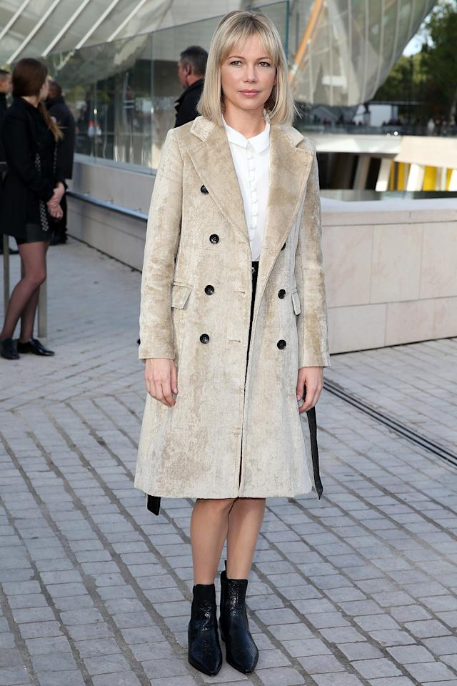 """<p>""""I always like being part of a family,"""" she told Yahoo Style of her reign as the face of Louis Vuitton. """"It's nice to have consistency and long relationships."""" <i>Photo: Getty Images</i></p>"""