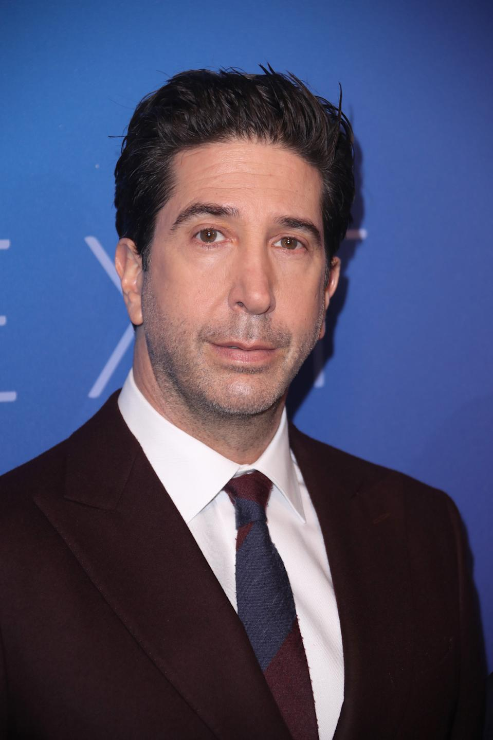 David Schwimmer attends the Sky Up Next 2020 at Tate Modern on February 12, 2020 in London, England. (Photo by Mike Marsland/WireImage)