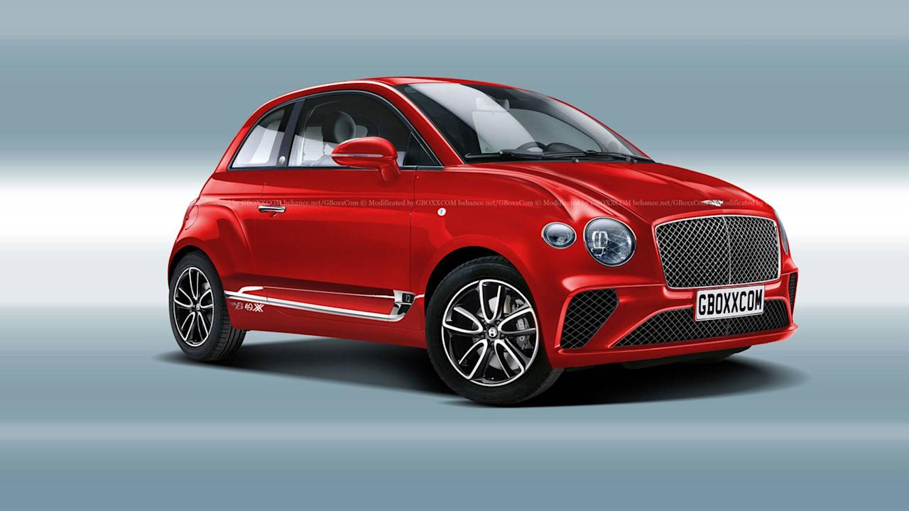 What if porsche bentley and mclaren were to sell city cars for Sell em all motors