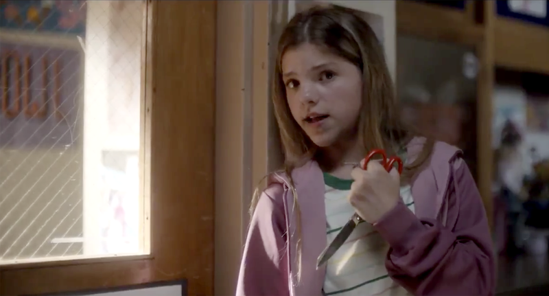 "A scene from ""Back-to-School Essentials,"" the latest PSA from Sandy Hook Promise. (Yahoo News)"
