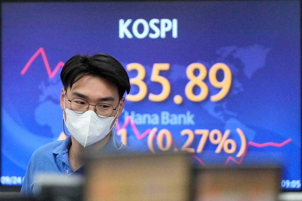 South Korea Financial Markets (Copyright 2021 The Associated Press. All rights reserved)