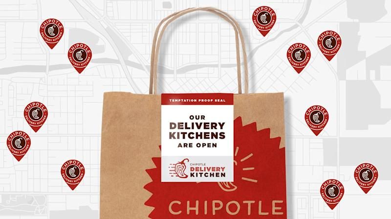 Chipotle is offering free delivery through March