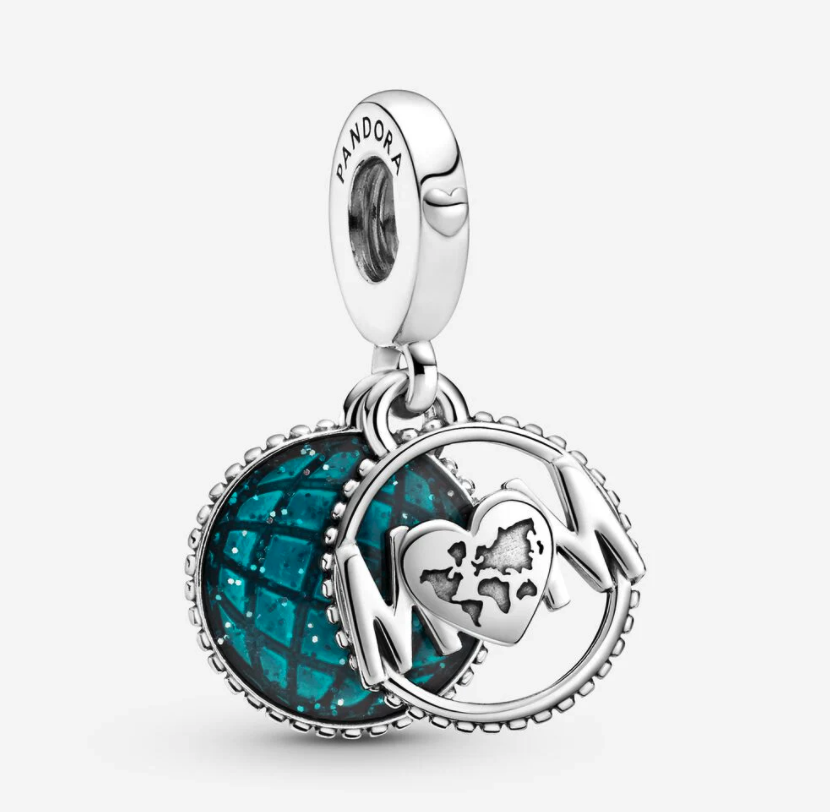 Glitter Globe Mom Dangle Charm. Image via Pandora.