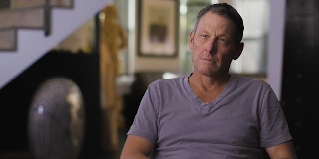 "Lance Armstrong in ""Lance."""