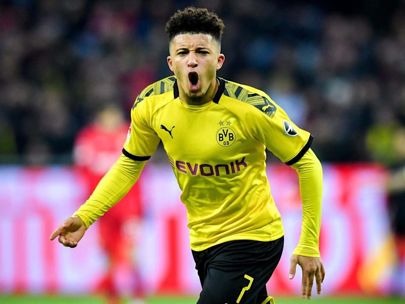 Jadon Sancho remains a Manchester United target despite Borussia Dortmund insisting they will not sell him: EPA