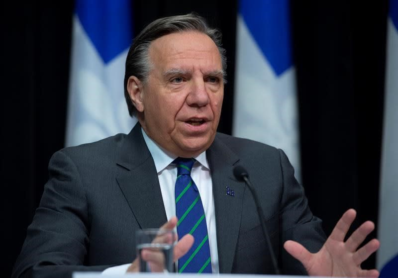"""Quebecers """"in a fight"""" against COVID-19, Legault says as more deaths announced"""