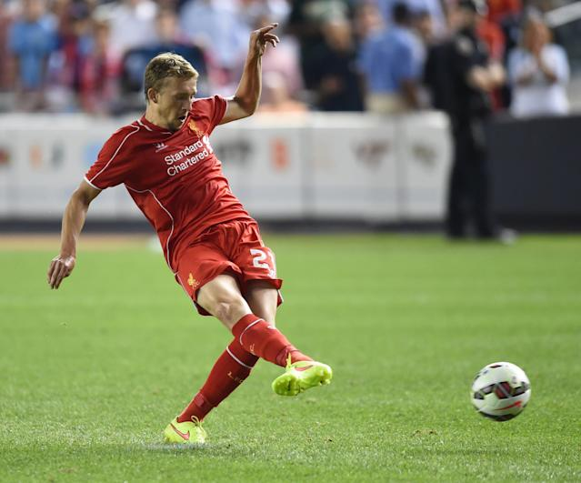 Liverpool's Lucas Leiva is reportedly a target for Italian giants Inter Milan (AFP Photo/Timothy A. Clary)