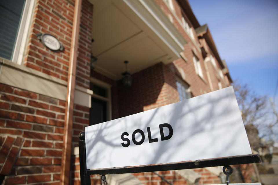 The Toronto Real Estate Board says supply can't keep up with demand  (Getty Images)