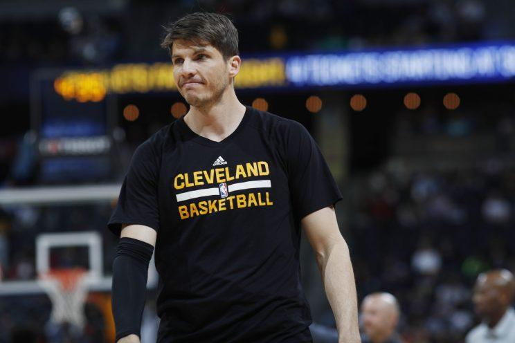 Kyle Korver shot 45.1 percent from 3-point range last season. (AP)