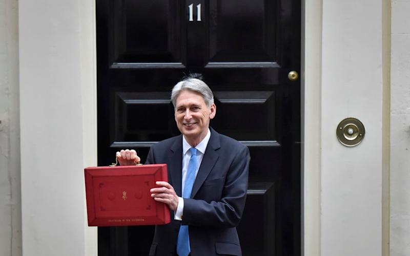 A plan to solve the care funding crisis wasn't forthcoming in Philip Hammond's Budget announcement - Barcroft Media