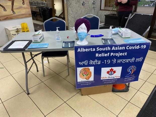 Alberta South Asian community organizers are hosting COVID-19 information workshops in Edmonton and Calgary, complete with Punjabi pamphlets and mask clips designed for people who wear turbans.