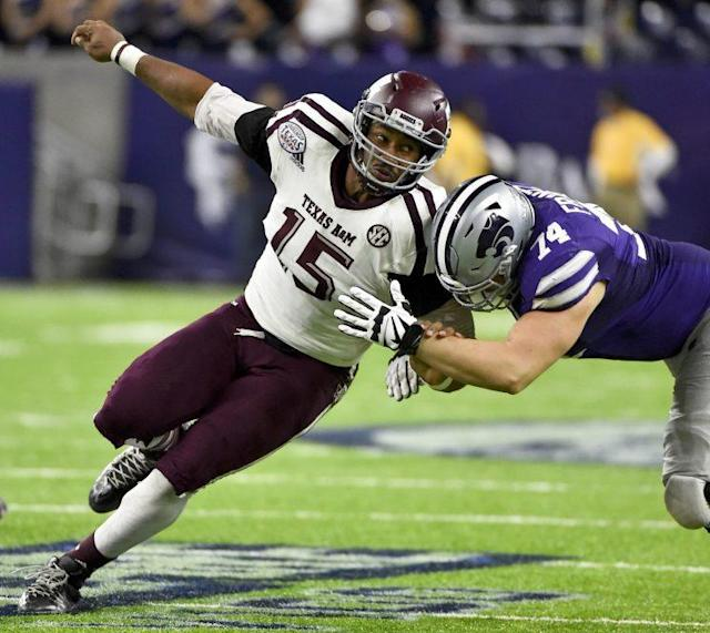 Myles Garrett is expected to be the first pick of the draft. (AP)