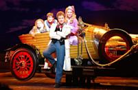 """<p>While attending Sylvia Young Theatre School, John got his first taste of the stage life at the age of 9, <a href=""""https://www.playbill.com/article/how-john-mccrea-went-from-unknown-to-olivier-nominated-star"""" class=""""link rapid-noclick-resp"""" rel=""""nofollow noopener"""" target=""""_blank"""" data-ylk=""""slk:with a role in Chitty Chitty Bang Bang"""">with a role in <strong>Chitty Chitty Bang Bang</strong></a> at the London Palladium. He was one of a group of children from his theater school attending auditions for numerous different roles, and he was the only one to receive a part out of the group. Throughout his training, he continued to appear in theater, racking up appearances in <strong>The King And I</strong> and as Friedrich in <strong>The Sound Of Music</strong>.</p>"""