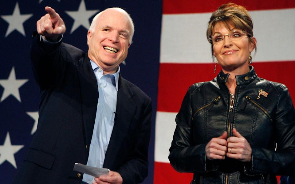 Palin, McCain's running mate in 2008, failed to convince voters that she could deputise for the president - REUTERS