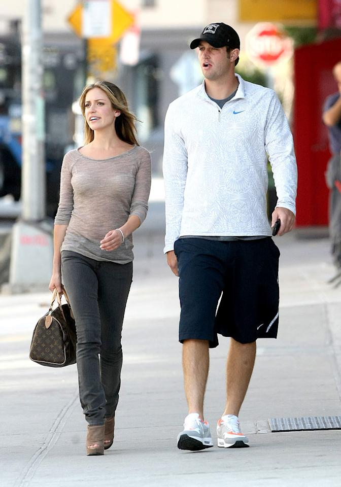 """Kristin Cavallari has been spending lots of quality time with Chicago Bears quarterback Jay Cutler. Think she'll be leaving """"The Hills"""" of Hollywood for the Windy City? Daniel/Harding/<a href=""""http://www.infdaily.com"""" target=""""new"""">INFDaily.com</a> - September 13, 2010"""
