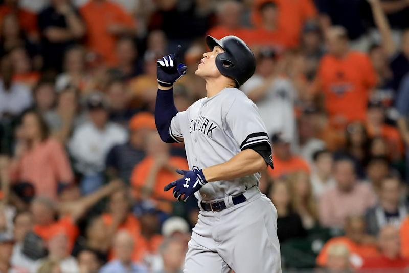 Aaron Judge is your no-doubt AL Rookie of the Year. Question is, will anybody else even get a first-place vote? (AP)