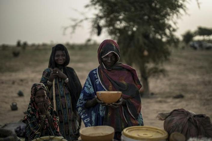 The Fulanis in Niger have seen their herds decimated by droughts and hunger in recent decades -- and this decline is gaining speed (AFP Photo/Marco LONGARI)
