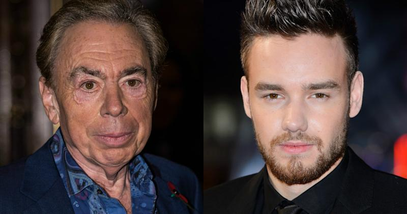 Liam Payne is at the top of Andrew Lloyd Webber's wishlist for Joseph and the Amazing Technicolour Dreamcoat (Copyright: James Gourley/REX/Shutterstock/Jonathan Hordle)