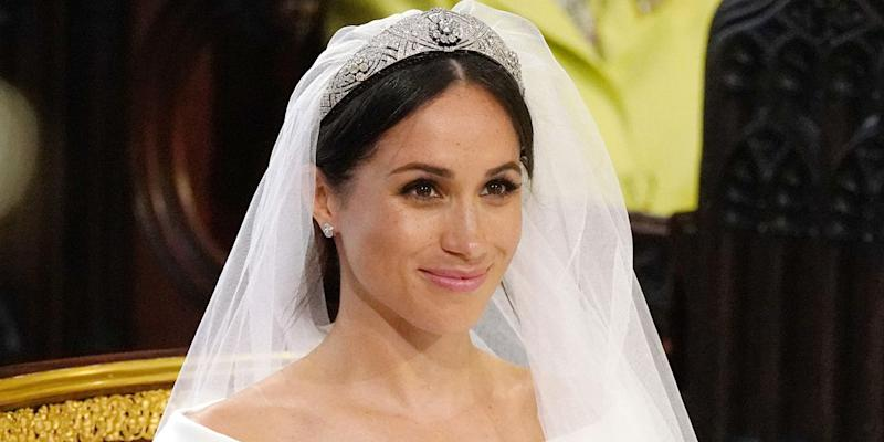 8cf097a09 All the Details on Meghan Markle's Wedding Tiara