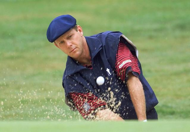 Payne Stewart was one of six people who died when a Learjet 35 crashed on Oct. 25, 1999 in South Dakota. (Stephen Jaffe/AFP via Getty Images)