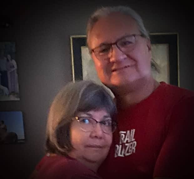 Victor Thunderchild, who died as a result of COVID-19 on Saturday, is seen here with his wife, Violet. He is being remembered as a loving father, husband and educator who would do anything for his students and his family.