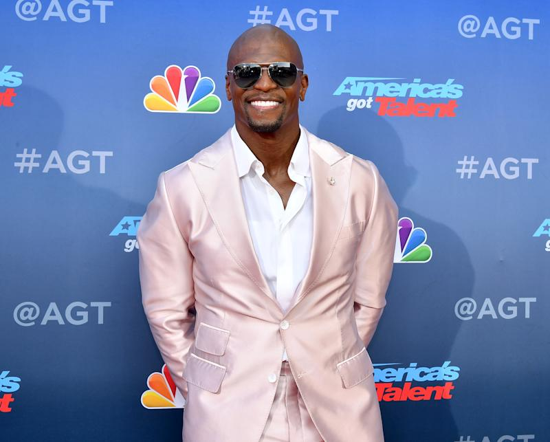 Terry Crews, here at the America's Got Talent season 15 premiere, responds to backlash over a tweet.