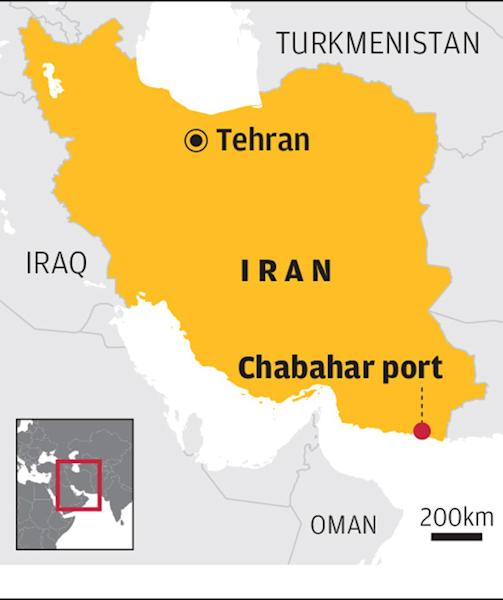 Iran's India-operated Chabahar port in limbo due to US sanctions and regional security issues