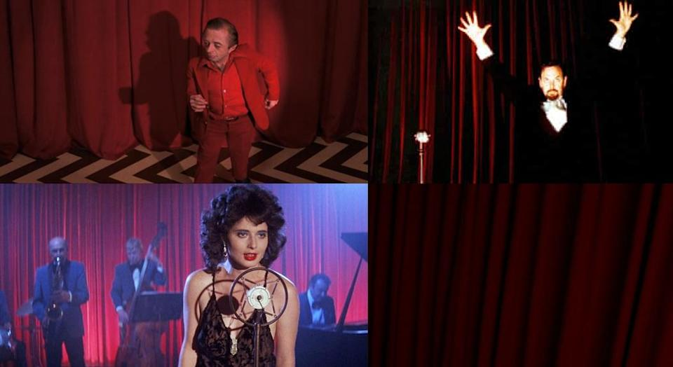 The red curtains of David Lynch films.