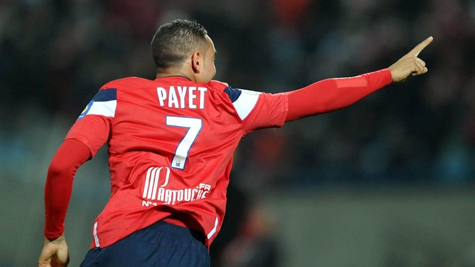 Lille's French forward Dimitri Payet cel | PHILIPPE HUGUEN/Getty Images