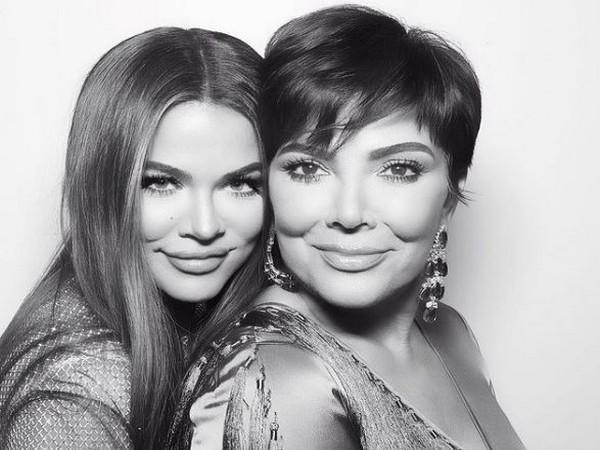 Khloe Kardashian with mother Kris Jenner (Image Source: Instagram)