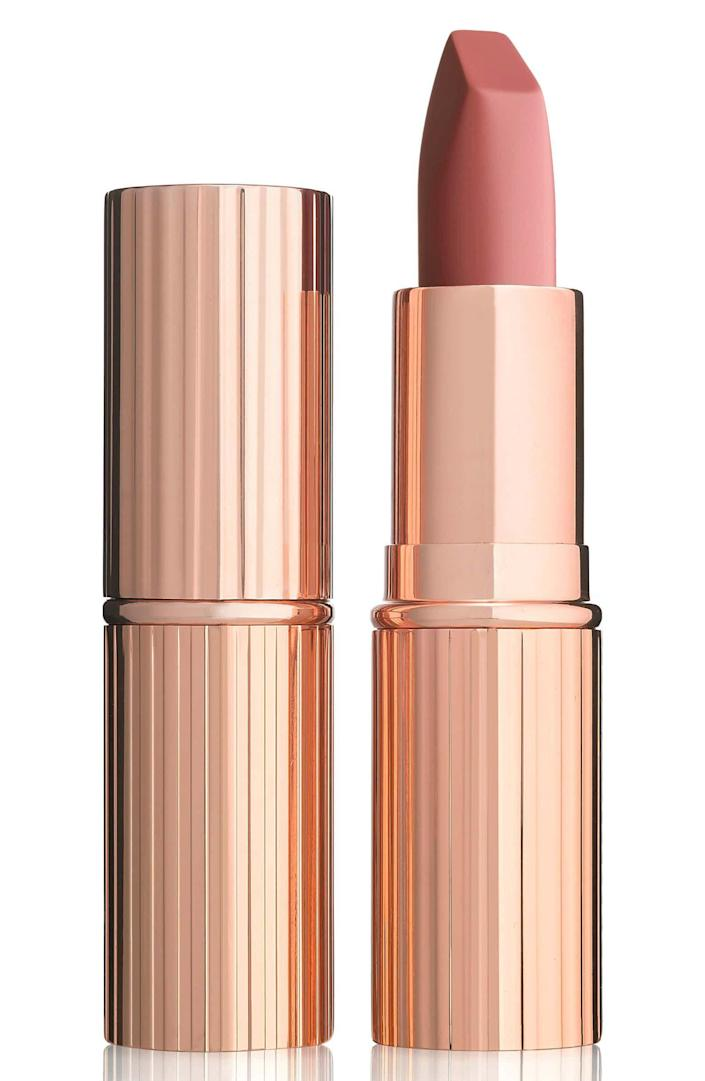 """<p><strong>Charlotte Tilbury</strong></p><p>nordstrom.com</p><p><strong>$34.00</strong></p><p><a href=""""https://go.redirectingat.com?id=74968X1596630&url=https%3A%2F%2Fwww.nordstrom.com%2Fs%2Fcharlotte-tilbury-matte-revolution-lipstick%2F4083222&sref=https%3A%2F%2Fwww.townandcountrymag.com%2Fstyle%2Fbeauty-products%2Fg19408606%2Fgift-ideas-for-women%2F"""" rel=""""nofollow noopener"""" target=""""_blank"""" data-ylk=""""slk:Shop Now"""" class=""""link rapid-noclick-resp"""">Shop Now</a></p><p>The always-sold-out shade of lipstick that just so happens to look good on everyone. </p>"""