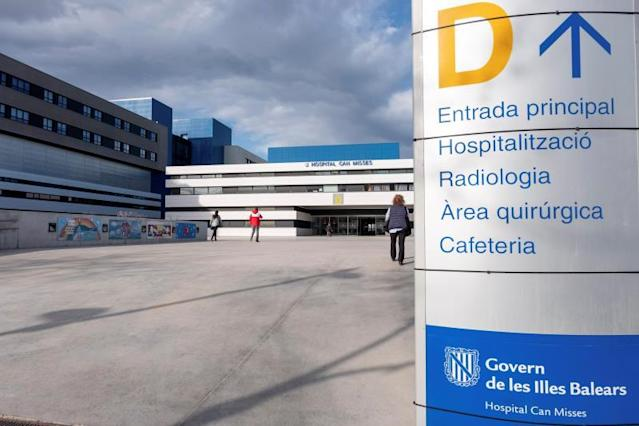 Entrada del Hospital Can Misses (Foto: EFE)