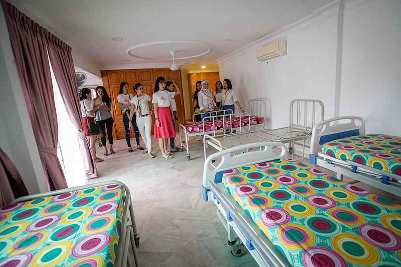 The centre also comes with a room with hospital beds for seniors who require special care. — Picture by Hari Anggara