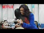 "<p>Former First Lady Michelle Obama's first memoir, <em>Becoming</em>, was an instant success and New York Times bestseller, so it's no surprise that her documentary of the same name is equally compelling. The Netflix original documentary takes viewers on a deeper dive of her life, beginning in the Southside of Chicago through her time as First Lady. Living under a microscope, she accurately notes that much of the world only knows her for the eight years she spent living in the White House. <em>Becoming</em> seeks to offer the truths of what happened on her way there.</p><p><a class=""link rapid-noclick-resp"" href=""https://www.netflix.com/title/81122487"" rel=""nofollow noopener"" target=""_blank"" data-ylk=""slk:Watch Now"">Watch Now</a></p><p><a href=""https://www.youtube.com/watch?v=wePNJGL7nDU&feature=emb_title"" rel=""nofollow noopener"" target=""_blank"" data-ylk=""slk:See the original post on Youtube"" class=""link rapid-noclick-resp"">See the original post on Youtube</a></p>"