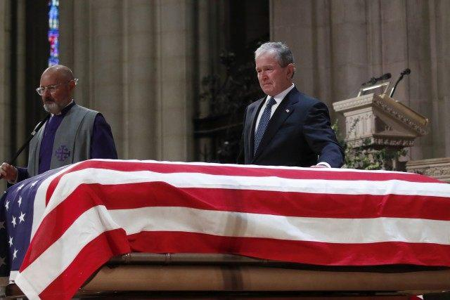 George Bush Father's Funeral
