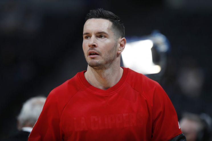 J.J. Redick is taking President Trump very seriously and probably literally. (AP)