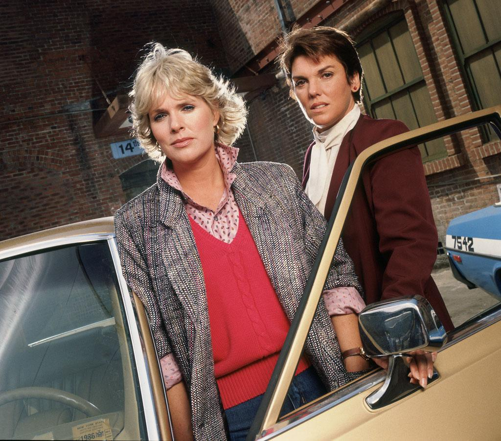 """Sharon Gless as Christine Cagney and Tyne Daly as Mary Beth Lacey in """"Cagney & Lacey."""""""